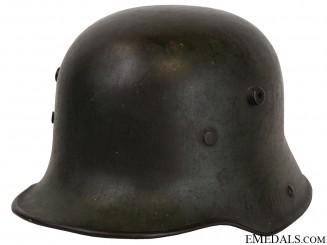 An M17 German Combat Helmet (Stahlhelm M16)