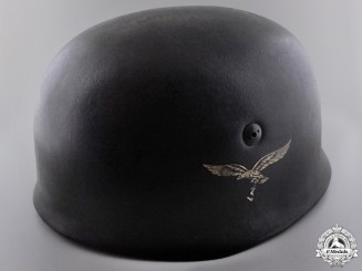 An M38 Single Decal Fallschirmjäger Helmet