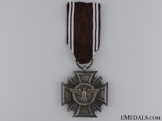 An NSDAP Faithful Service Decoration; 3rd Class
