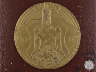 An NSDAP Göttingen Table Medal with Case; M/183