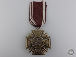 An NSDAP Long Service Award for Ten Years