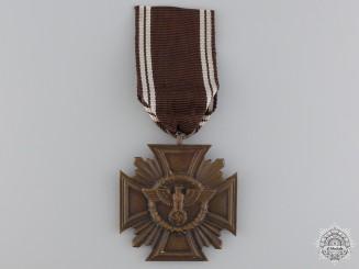 An NSDAP Long Service Award; 10 Year Service Cross