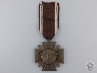 An NSDAP Long Service Award; Ten Year Cross
