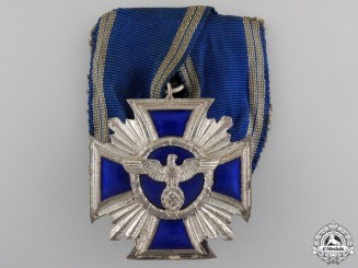 An NSDAP Long Service Award; 15 Year Second Class