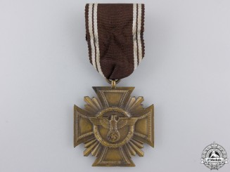 An NSDAP Long Service Award for 10 Years by Frederick Orth