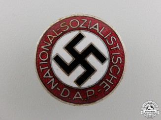 An NSDAP Membership Badge by Werner Redo
