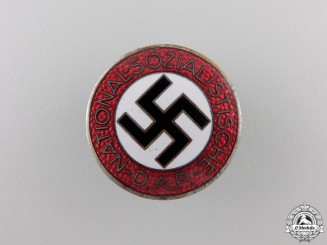 An NSDAP Party Membership Badge