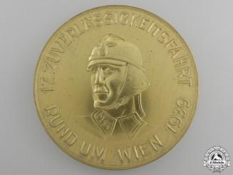 An NSKK Standard M94 Motor Group Vienna Drive Medal 1939