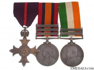 An OBE & South Africa War Trio