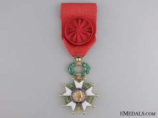 An Officer's Legion D'Honneur; Fifth Republic