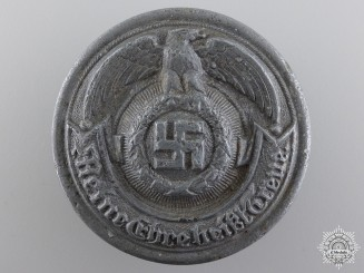 An Officer's SS Belt Buckle