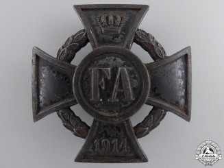 An Oldenburg 1914 War Merit Cross 1st Class