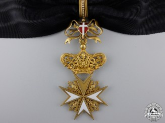 An Order of Knights of Malta; Donat Cross 1st Class in Gold