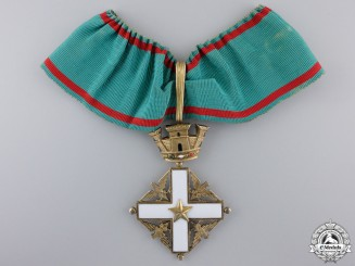 An Order of Merit of the Italian Republic, Commander