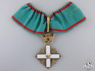 An Order of Merit of the Italian Republic, Commander