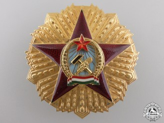An Order of Merit of the Hungarian People's Republic; First Class