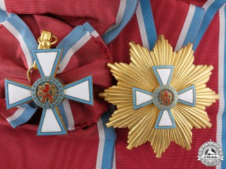 Luxembourg, Duchy. An Order of Merit, Grand Cross, c.1965