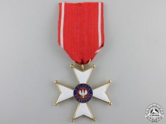 An Order of Polonia Restituta, 5th Class Knight 1944