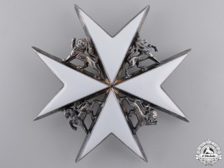 An Order of St. John; Commander Breast Star
