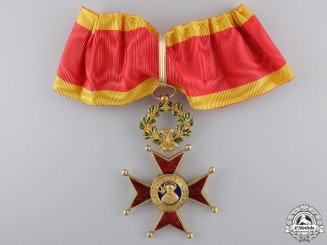 Vatican. An Order of St.Gregory in Gold, Commander's Cross, c.1900