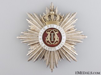 An Order of the Romanian Crown; Grand Officer Star