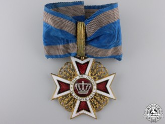 Romania, Kingdom. An Order of the Crown, Commanders Cross