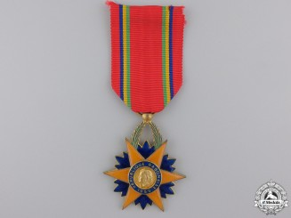 French, Colonial Gabon. An Order of the Equatorial Star, Knight