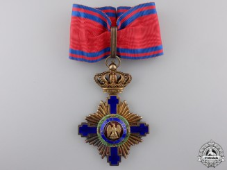 Romania, Kingdom. An Order of the Star, Commanders Cross, c.1925