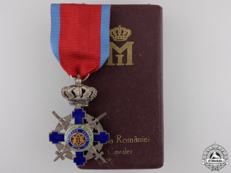 Romania, Kingdom. An of the Star,  Knight with Crossed Swords, c.1940