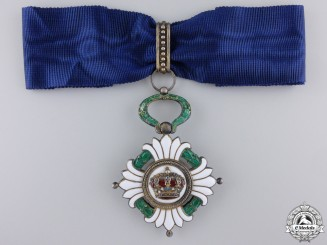 An Order of the Yugoslavian Crown; Third Class Commander