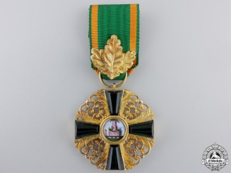An Order of the Zähringen Lion in Gold; 1st Class Knights Cross