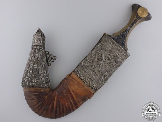 An Ornate Yemeni Jambiya