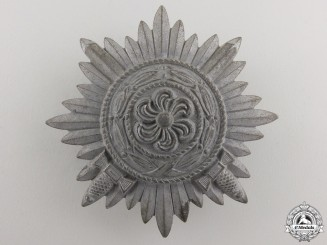 An Ostvolk Decoration for Bravery; First Class