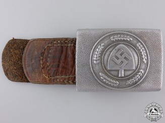 An RAD Belt Buckle 1936 by Assmann