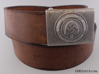 An RAD Belt with Buckle by Hermann Aurich, Dresden