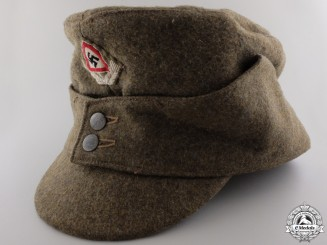 An RAD Bergmutze Austrian-Style Mountain Troops Hat