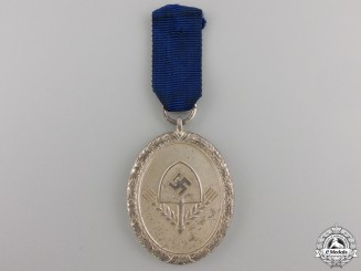 An RAD Long Service Award; Third Class Medal
