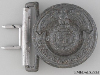 An RZM SS Officer's Buckle