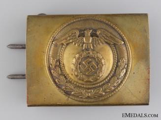 An SA Belt Buckle for Enlisted Men/NCOs