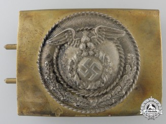 An SA Enlisted Men/NCOs Belt Buckle