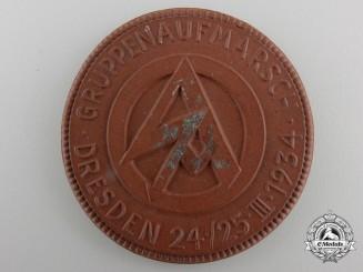 An SA GRUPPENAUFMARSCH Dresden Non-Portable Medal