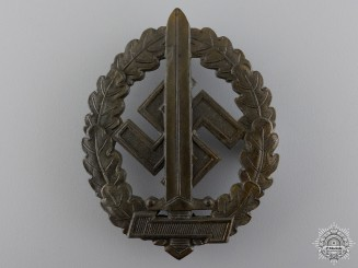 An SA Sport Badge for War Disabled by Werner Redo