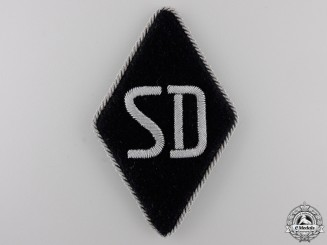 An SS – SD Officer's Sleeve Diamond Insignia