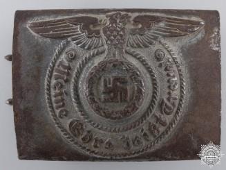 """An SS EM/NCO's Belt Buckle by """"RZM 155/43 SS"""" (Assmann)"""