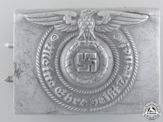 An SS EM/NCO'S Buckle byOverhoff and Cie of Ludenscheid