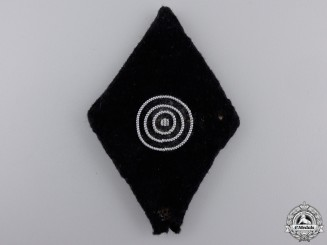 An SS Second Class Marksman's Sleeve Badge