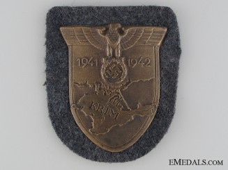 An Unissued Krim Shield