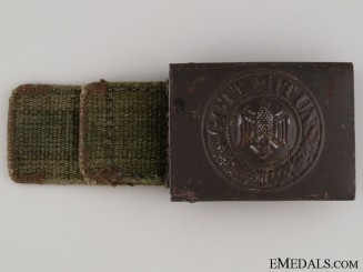 Army (Heer) Belt Buckle