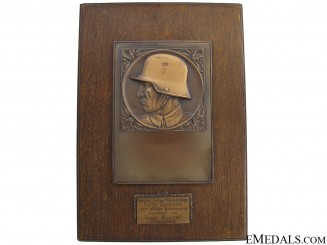 Army (Heer) Memorial Plaque