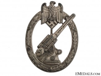 Army Flak Badge by C.E.Juncker